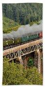 34067 Tangmere Crossing St Pinnock Viaduct. Bath Towel