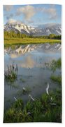 Grand Teton National Park Bath Towel