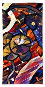 Koi Fish Bath Towel