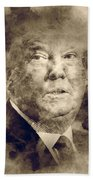 Donald Trump Bath Towel