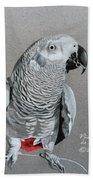 African Grey Parrot Bath Towel
