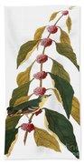 Audubon: Warbler Hand Towel