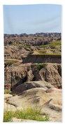 Badlands National Park South Dakota Bath Towel