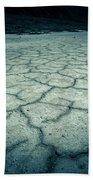 Badwater Basin Death Valley Salt Formations Bath Towel