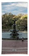 Bethesda Fountain Bath Towel