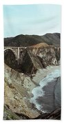 Bixby Creek Bridge Big Sur Photo By Pat Hathaway Bath Towel