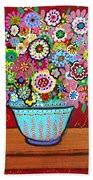 Blooms Bath Towel