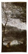 Camille Corot Bath Towel