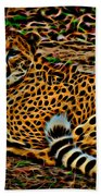 Cheeta Bath Towel