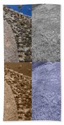 4 Crack Rocks New Mexico Bath Towel