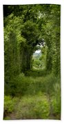 Famous Tunnel Of Love Location Bath Towel