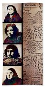 Game Of Thrones. House Stark. Bath Towel