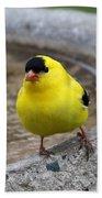 Goldfinch Bath Towel