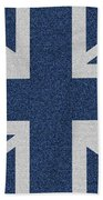 Great Britain Denim Flag Bath Towel