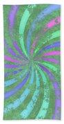 Grunge Swirl Bath Towel
