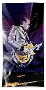 Joe Bonamassa Blues Guitarist Art Bath Towel