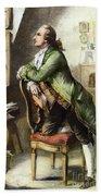 Johann Goethe, 1749-1832 Bath Towel