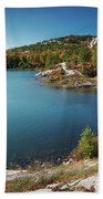 Killarney Provincial Park In Fall Bath Towel
