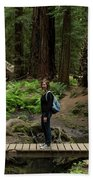 Montgomery Woods State Natural Reserve Bath Towel