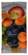 Multicolor Fruits Bath Towel