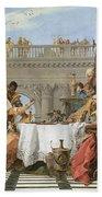 The Banquet Of Cleopatra Bath Towel