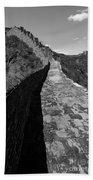 The Great Wall Of China Near Jinshanling Village, Beijing Bath Towel