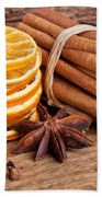 Winter Spices Hand Towel