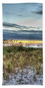 Yorktown Beach At Sunrise Bath Towel