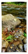 Fall Along Williams River Bath Towel
