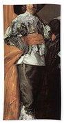 43meagr3 Frans Hals Bath Towel
