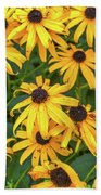 4400- Flowers Bath Towel