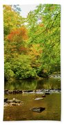 North Carolina Fall Colors Bath Towel