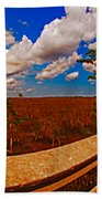 4x1 Everglades Panorama Number Two Bath Towel