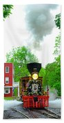 A President's Funeral Train - 3435 Bath Towel
