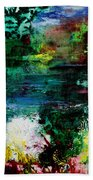 Abstract  Landscape Bath Towel