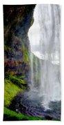 Acrylic Landscape Bath Towel