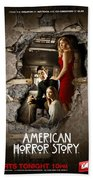 American Horror Story 2011 Bath Towel