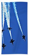 Blue Angels Bath Towel