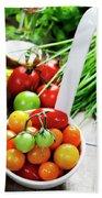 Fresh Tomatoes Bath Towel