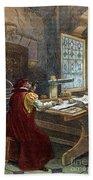 Galileo Galilei, 1564-1642 Bath Towel