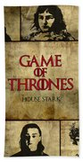 Game Of Thrones. House Stark. Bath Towel
