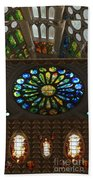 Graphic Art From Photo Library Of Photographic Collection Of Christian Churches Temples Of Place Of  Bath Towel