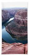 Horseshoe Bend Colorado River Arizona Usa Bath Towel