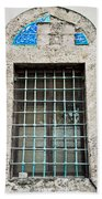 Old Window Hand Towel by Tom Gowanlock