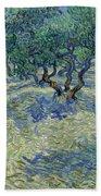 Olive Orchard Bath Towel