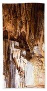 Onondaga Cave Formations Bath Towel