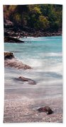 Rocky Seashore Bath Towel