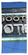 Route 66 - Boots Motel Bath Towel