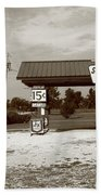Route 66 Sinclair Station Hand Towel