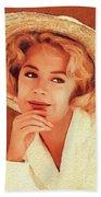 Sandra Dee, Vintage Actress Hand Towel